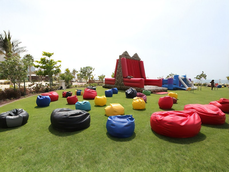 bean bags for kids birthday party